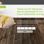 Myopinion.deltaco.com – Del Taco Guest Satisfaction Survey